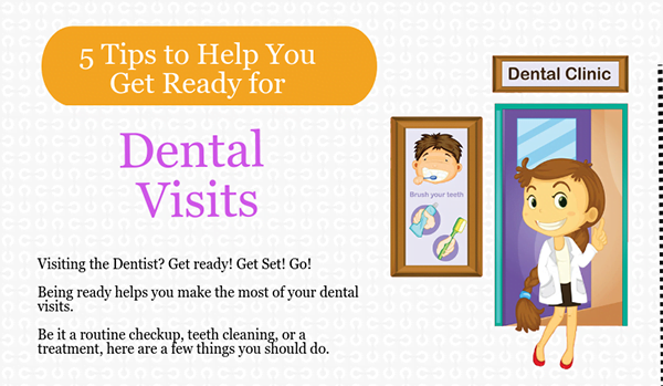 5 Tips to Prepare for Dental Visits!